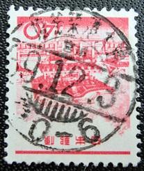 陽明門赤d欄櫛型印