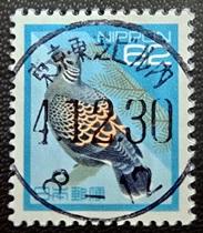 平成キジバトナンバリング印