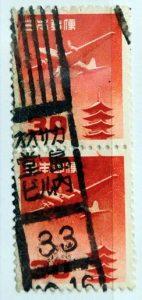 五重塔円位30円ペアオオサカ堂島ビル内局