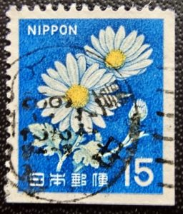 新キク15円ペーン唐草和文機械印