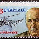 アメリカ切手への消印もれ印