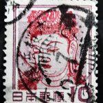 観音菩薩像10円の発行月印
