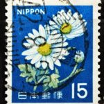 新キク15円の昭和42年櫛型印